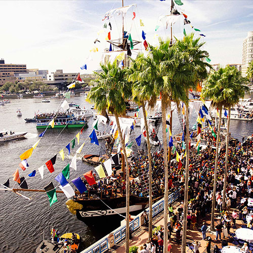 Gasparilla Pirate Festival on Hillsborough River