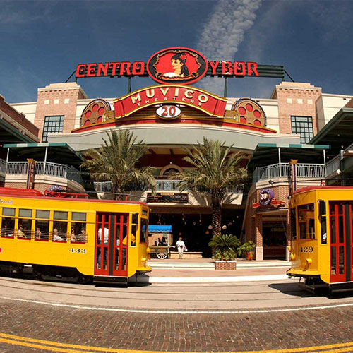 Historic Centro Ybor and TECO Street Cars